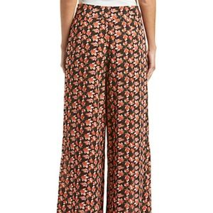 e287eca62ec Flying Tomato Pants - FLYING TOMATO Rust Leaf Palazzo Printed Pants